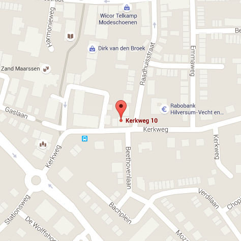 locatie Gordian op een map