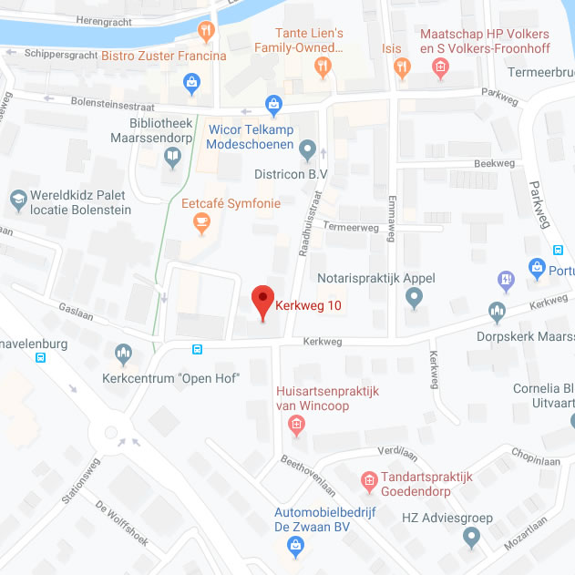 locatie Gordian op de kaart