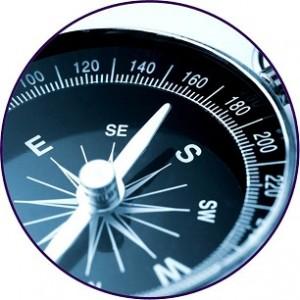 kompas rond